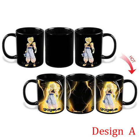 Dragon Ball Z Heat Changing Mugs