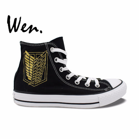 Attack On Titan Gold Survey Corps Shoes
