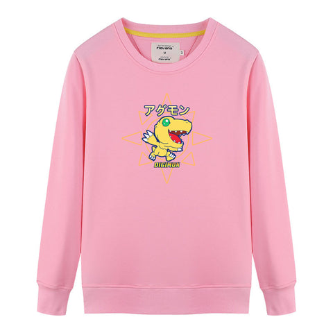 Digimon Agumon Crew Neck Sweater
