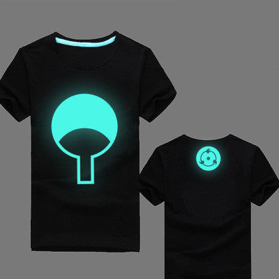 Naruto Uchiha Fan Glow In The Dark T-Shirt