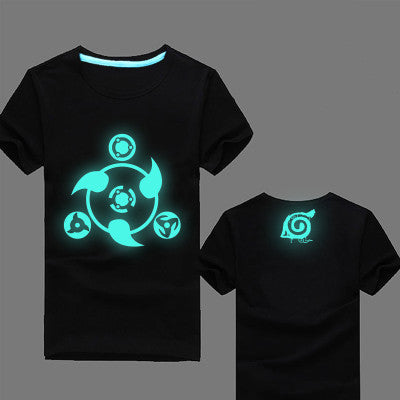 Naruto Sharingan Glow In The Dark T-Shirt
