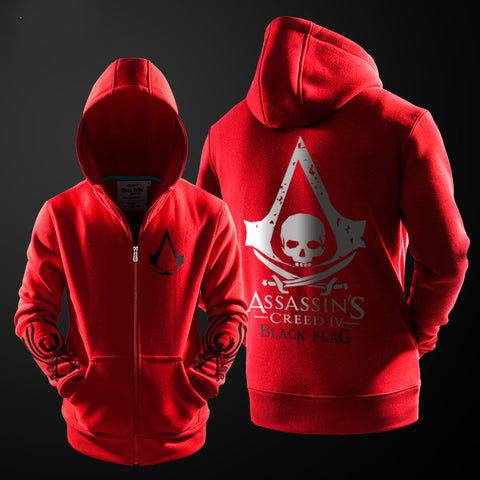 Assassins Creed Series Zip Up Hoodie