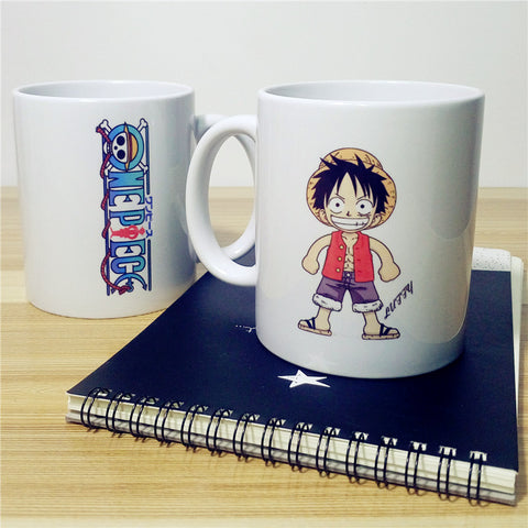One Piece Character Mugs