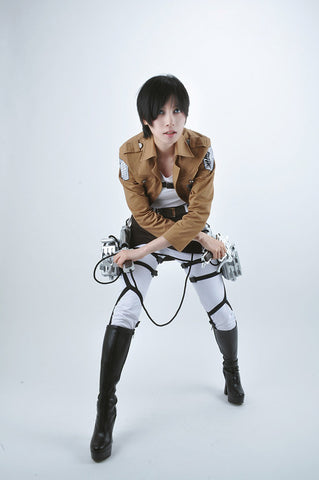 Attack on Titan Eren Jaeger Survey Corps Cosplay Costume