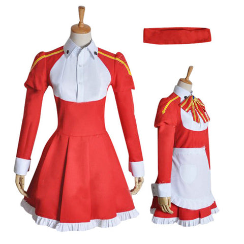 Sword Art Online Lisbeth Maid Cosplay Costume