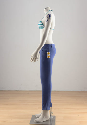 One Piece Nami Two Years Later Cosplay Costume