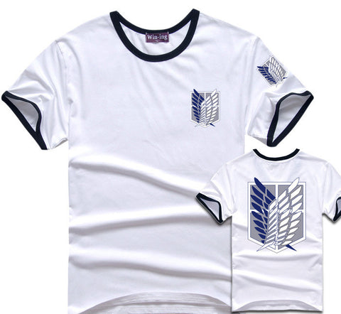 Attack On Titan Survey Corps Baseball T-Shirt