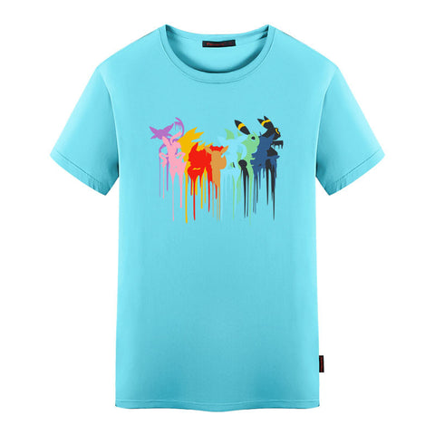 Pokemon Go Eevee Evolution Drip T-Shirt