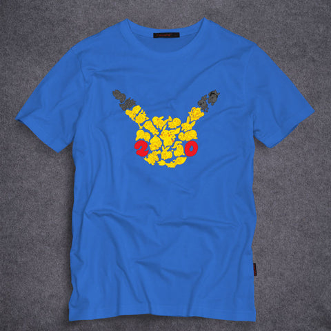 Pokemon Pikachu Pieces T-Shirt