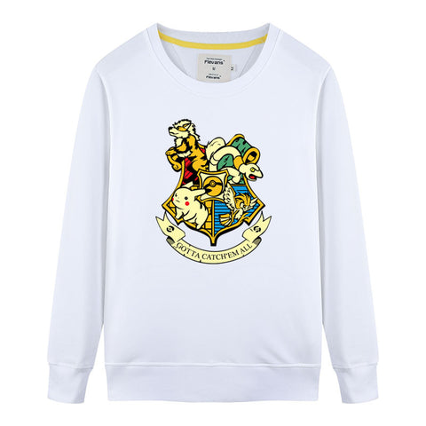 Pokemon Crest Crew Neck Sweater
