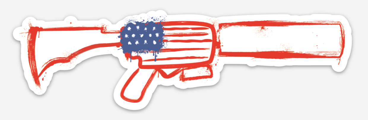 AMERICAN LAUNCHER - STICKER