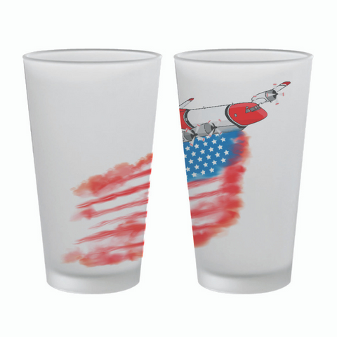 AMERICAN PLANE - PINT GLASS