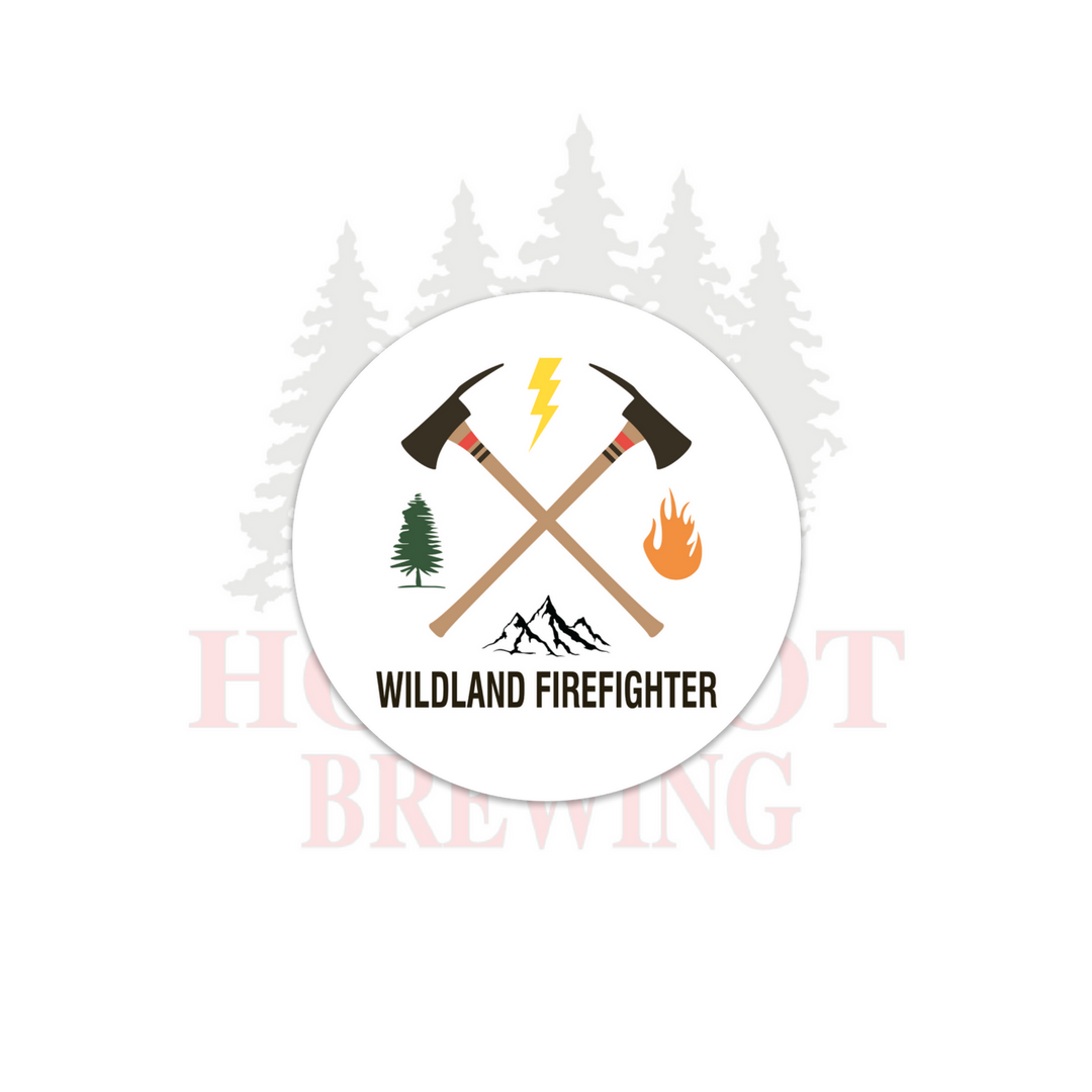 WILDLAND FIREFIGHTER - STICKER