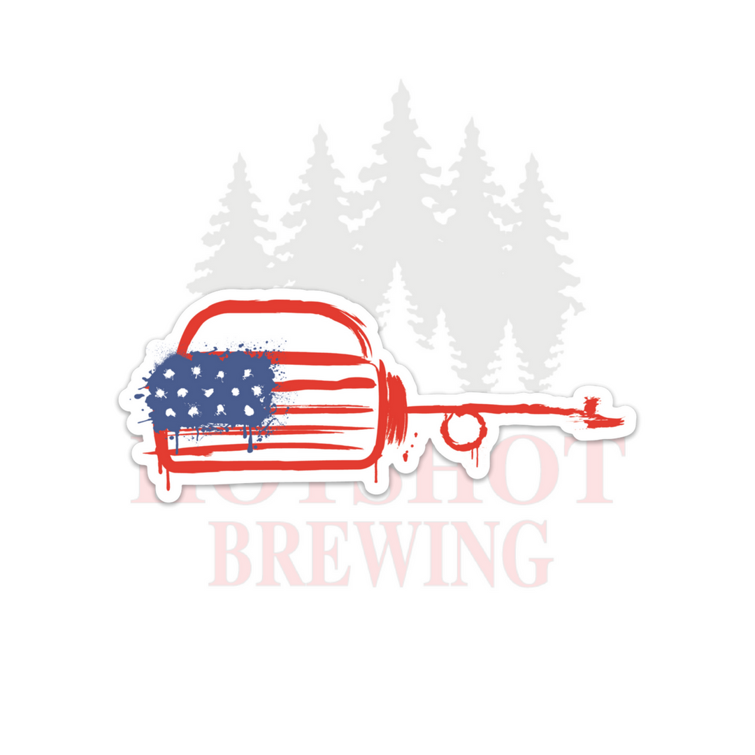 AMERICAN DRIP TORCH - STICKER