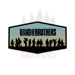 BAND OF BROTHERS - STICKER