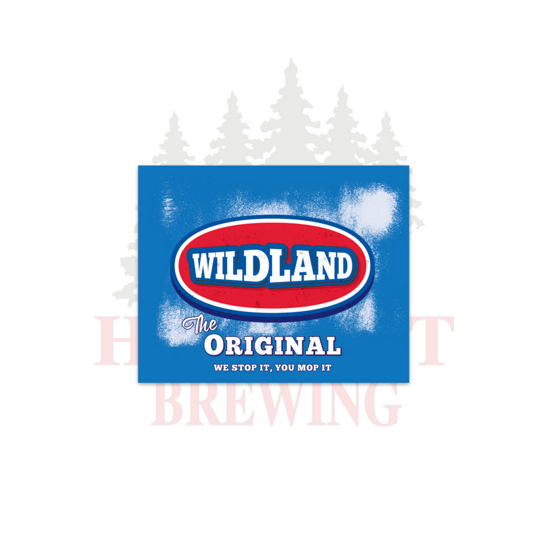 WILDLAND ORIGINAL - STICKER