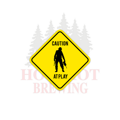 CAUTION - STICKER
