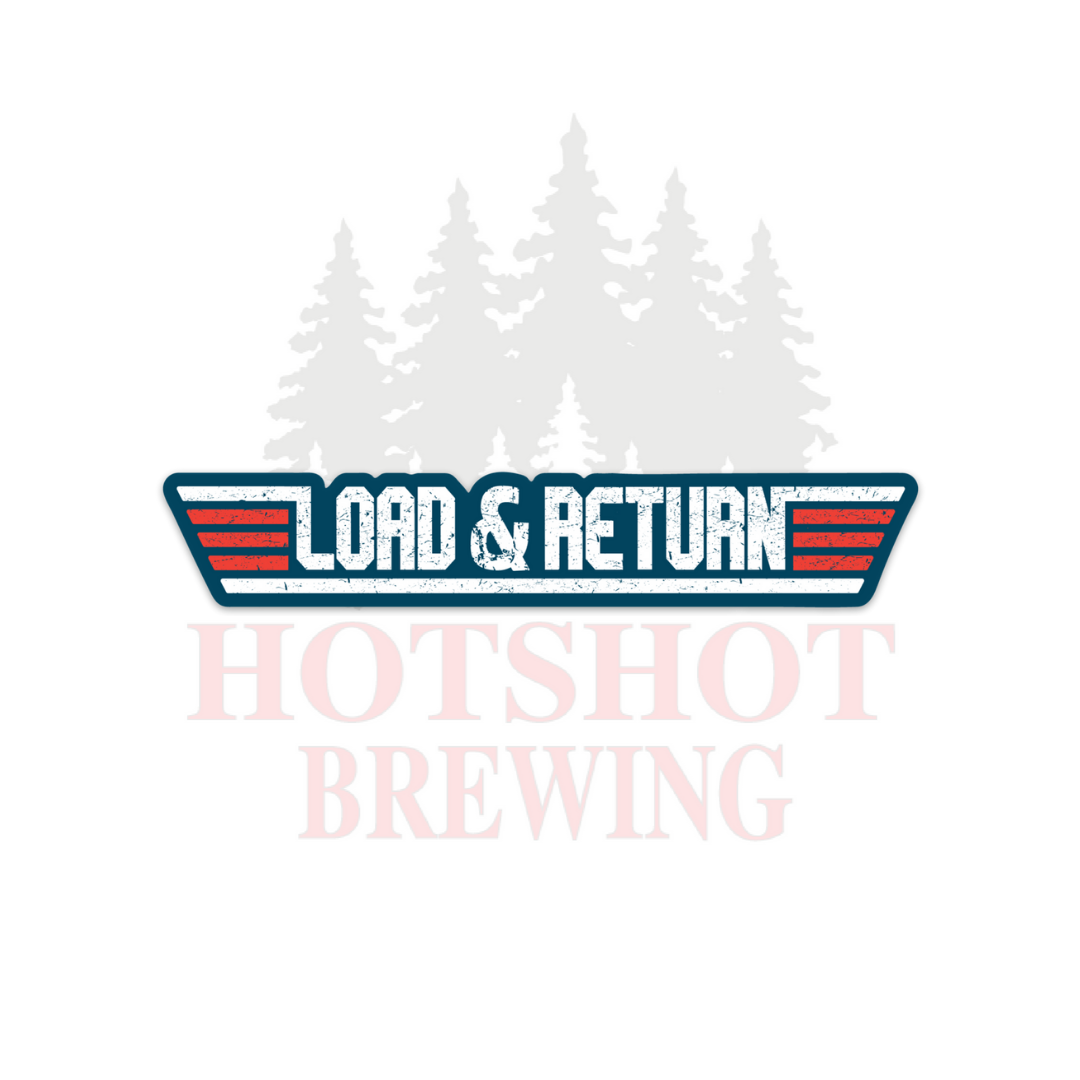 LOAD & RETURN - STICKER