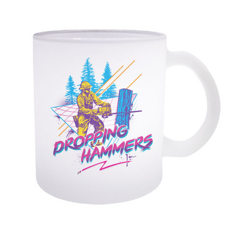 DROPPING HAMMERS - FROSTED MUG