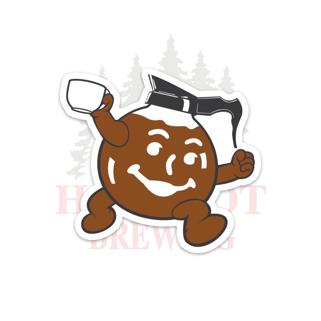 COFFEE MAN - STICKER