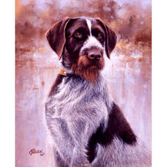 That's My Dog, Too! - Drahthaar;  Limited Remarque Print by Jim Killen - 1432752162