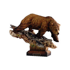 Taking the Lead - Bear;  Sculpture by Danny Edwards - 6567732475