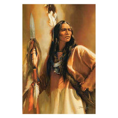 Redhawk - Native American;  Framed Limited Edition Print by Russ Docken - F225600084