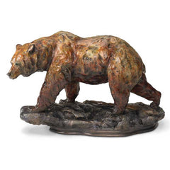 One Step - Grizzly Bear;  Sculpture by Danny Edwards - 6567730675