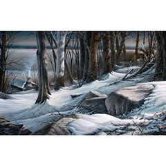 Boulder Ridge - Deer;  Artist Proof Print by Terry Redlin - 1701140289