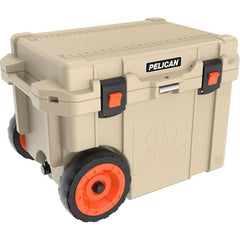 Pelican™ 45 Qt Elite Cooler with Wheels - Tan