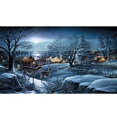 Hometown;  Framed Limited Edition Print by Terry Redlin - F701249089OAK