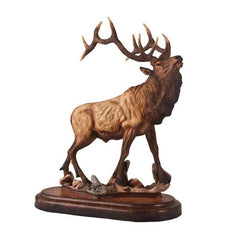 Wapiti - Elk;  Sculpture by Danny Edwards - 6567732566