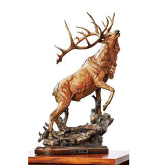 Call to Contest - Elk;  Sculpture by Stephen Herrero - 6567444466