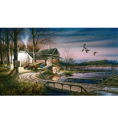 Hunter's Haven;  Artist Proof Print by Terry Redlin - 1701320289