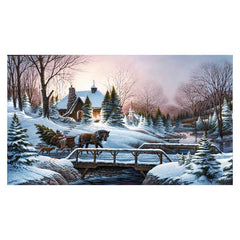 Heading Home;  Framed Legacy Canvas by Terry Redlin - F701300689