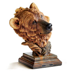 Timberline - Brown Bear;  Sculpture by Stephen Herrero - 6567443675