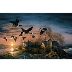 Sundown Horizon;  Museum Canvas by Terry Redlin - 1701537489