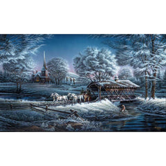 Morning Frost;  Framed Encore Canvas by Terry Redlin - F701350389