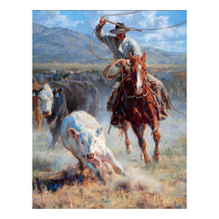 Buckaroo Roper;  Framed Print by Jason Rich - F726104182
