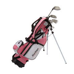 Tour Edge HT Max-J Junior Girl RH 4x1 Pink Golf Set Age 5-8 JKSRGJ4158