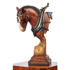 A Light Burden - Clydesdale;  Sculpture by Arich Harrison - 6567943581