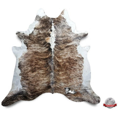 Brindle White Backbone Cowhide - Origin: Brazil