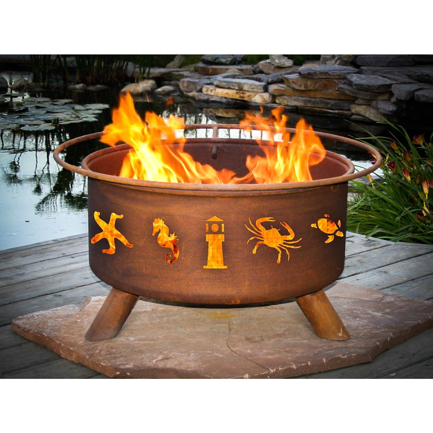 buy moose trees fire pit bringing the campfire experience to
