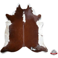 Hereford Cowhide Rug - Origin: Brazil
