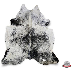 Salt and Pepper Cowhide Rug - Origin: Brazil