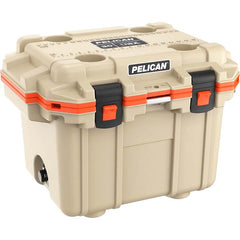 Pelican™ Elite Cooler 30qt Polypropylene Tan/Orange