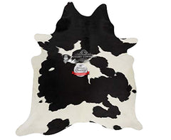 Black and White Cowhide Rug - Origin: Brazil