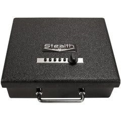 Stealth Tactical Portable Handgun Safe Pistol Lock Box - STL-PB-EZ