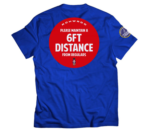 RichWierdo 6ft Distance Tee (Royal Blue)