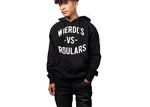 The Wierdos Vs The Regulars Hoody(Black)